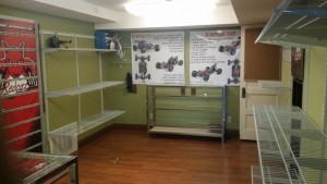 The shelves at Sky RC were left almost completely empty after the business was burglarized, St. George, Utah, Feb. 20, 2016   Photo courtesy of Sky RC Facebook page, St. George News