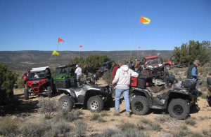 Tri-State Jamboree participants on a trail ride, Hurricane, Utah, circa March 2015 | Photo courtesy of Tri-State ATV Club, St. George News