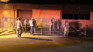 """The St. George Fire Department responded to a shed fire at Pine View Middle School that investigators consider """"very suspicious,"""" St. George, Utah, Feb. 23, 2016 