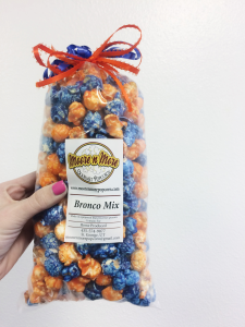 Photo of Bronco's Mix by Moore n More popcorn in St. George Utah, Feb 4, 2015 | Photo by Ali Hill, St. George News