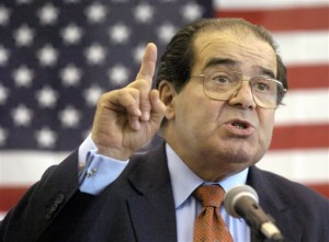 In this file photo, U.S. Supreme Court Justice Antonin Scalia speaks to Presbyterian Christian High School student. On Saturday, the U.S. Marshals Service confirmed that Scalia has died at the age of 79. Hattiesburg, Mississippi, April 7, 2004 | Photo by Gavin Averill/The Hattiesburg American (AP), St. George News