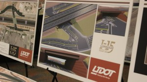 Render of the Mall Drive Underpass, at the 2016 Dixie Regional Transportation Expo, St. George, Utah, Feb. 9, 2016   Photo by Mori Kessler, St. George News