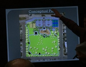 A conceptual master plan of the proposed overhaul of Vernon Worthen Park, St. George, Utah, Jan. 28, 2016 | Photo by Mori Kessler, St. George News