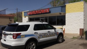 Police are searching for a suspect who allegedly assaulted a woman at a laundromat before fleeing the area on a bicycle, St. George, Utah, March 25, 2016 | Photo by Michael Durrant, St. George News