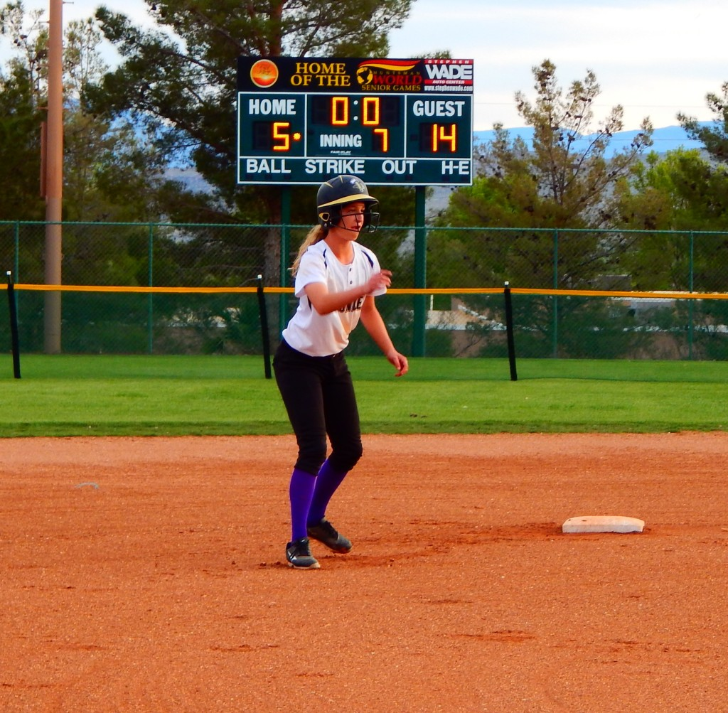 March Warmup high school softball tournament at The Canyon, St. George, Utah, Mar. 19, 2016 | Photo by Shelly Griffin, for the St. George News
