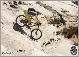 Participant in the Hurricane Mountain Bike Festival, Hurricane, Utah, Date not given | Photo courtesy of Photo John, St. George News