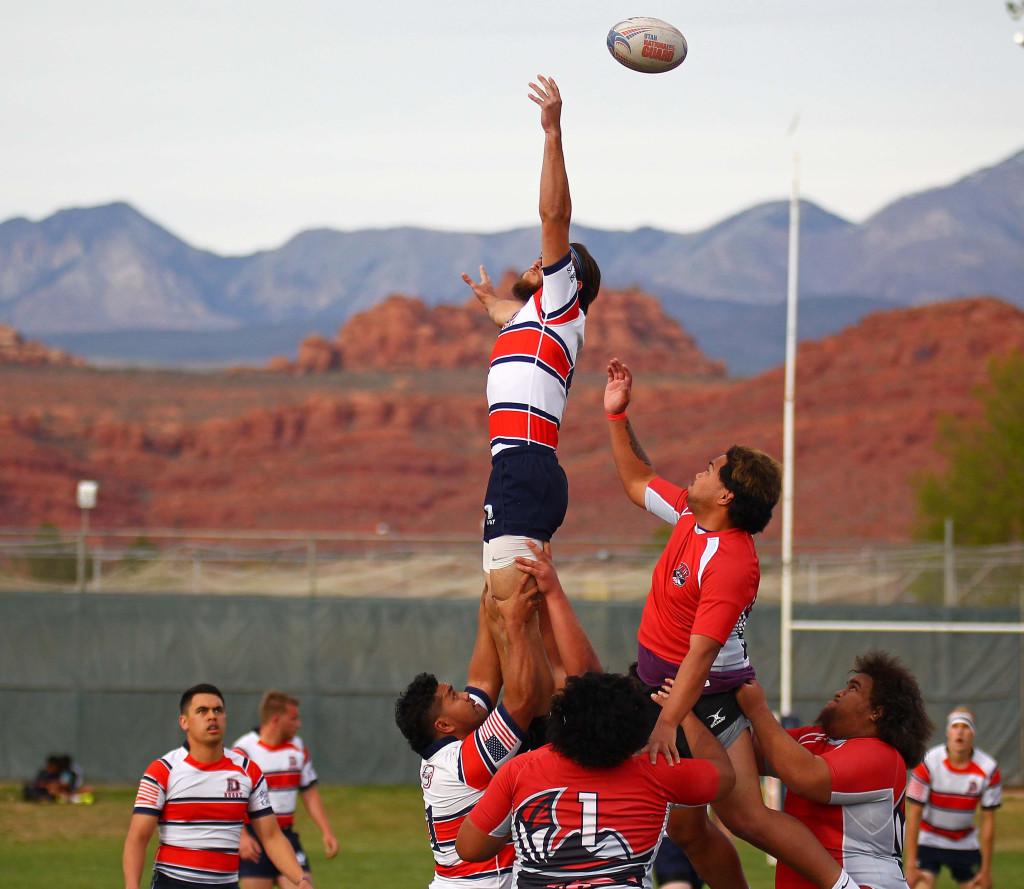 Dixie State University vs. UNLV, Rugby, St. George, Utah, Mar. 19, 2016, | Photo by Robert Hoppie, ASPpix.com, St. George News