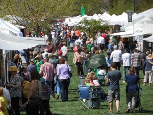 The 37th Annual St. George Art Festival opened Friday and continues Saturday in the Town Square, St. George, Utah, March 25, 2016 | Photo by Julie Applegate, St. George News