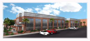 A rendering of the Burns Arena extension which was designed by MRW Design Associates, location and date not specified | Rendering courtesy of MRW Design, St. George News