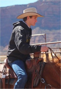 Kayden Cresswell, 16, of Moab, was killed Thursday in a head-on collision on SR-191 in Moab, Utah, photo location and date unspecified | Photo courtesy of Grand County School District, St. George News