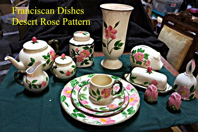 Fransiscan dishes featured in upcoming Catholic Thrift Store silent auction, St. George, Utah, Mar. 18, 2016| Photo courtesy of Catholic Thrift Store, St. George News