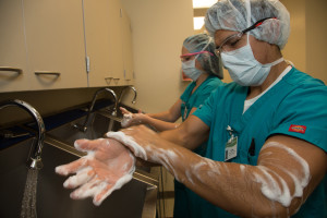 DSU students gain realistic operating room experience in the university's surgery lab, Date and location not given | Photo courtesy of Dixie State University, St. George News