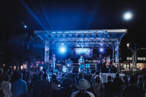 Crowds enjoy a free live concert during a previous George Streetfest event, St. George, Utah, date not specified | Photo courtesy of Emceesquare Media, St. George News