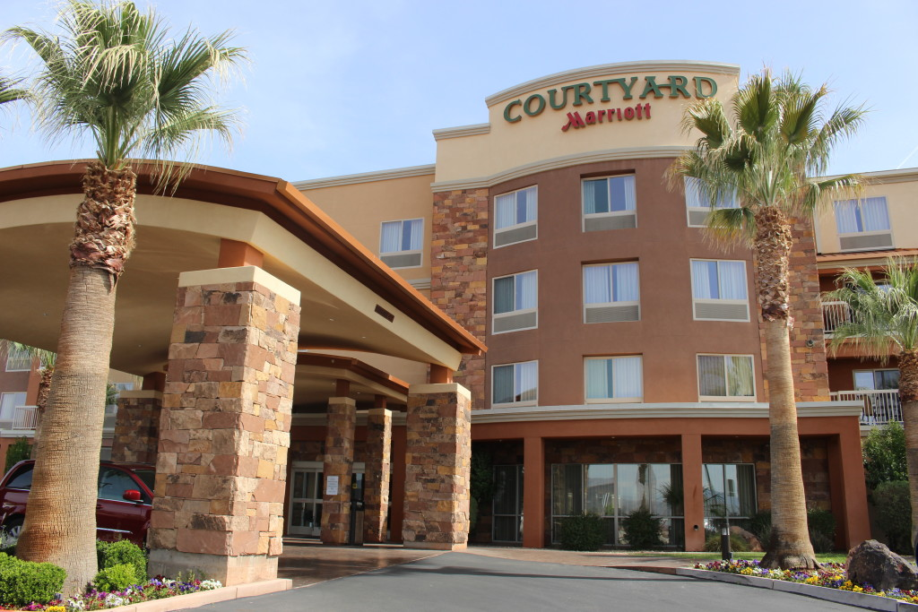 Courtyard by Marriott in St. Goerge hosting 35th Anniversary Luncheon for Catholic Thrift Store volunteers, St. George, Utah, Mar. 21, 2016| Photo by Cody Blowers, St. George News
