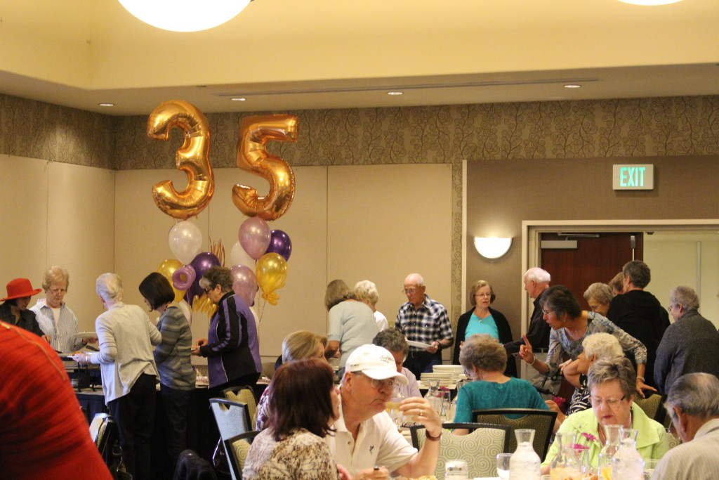 35th Anniversary Luncheon for Catholic Thrift Store volunteers, Courtyard by Marriott, St. George, Utah, Mar. 21, 2016| Photo by Cody Blowers, St. George News