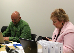 medical and administrative staff tackle obstacles at incident command, Valley View Medical Center, soon to be called Cedar City Hospital, Cedar City, Utah, March 17, 2016 | Photo by Carin Miller, St. George News