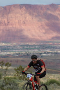 Riders competed in the 6th Annual True Grit Epic mountain bike race in St. George and Santa Clara, Utah, Mar. 12, 2016 | Photo by Don Gilman, St. George News