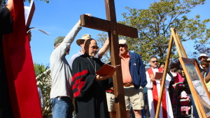 Members of the Christian Faith participate in the 10th annual Stations of The Cross procession in St. George, Utah, March 25, 2016 | Photo by Don Gilman, St. George News