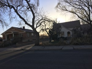 Corner of 200 N. 400 West where the city council is proposing to rezone to high density residential in order to allow for multiple units, Cedar City Utah Mar. 16, 2016, | Photo by Tracie Sullivan, Cedar City News