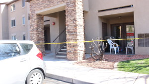Scene of evacuated apartments at The Falls at Mesa Point in St. George, Mar. 4, 2016.   Photo by Don Gilman, St. George News