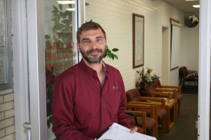 Josh Warburton, longtime publisher of The Independent, has thrown his hat into the race for the Washington County Commission, St. George, Utah, March 16, 2016 | Photo by Goarge Scott, courtesy of Josh Warburton, St. George News