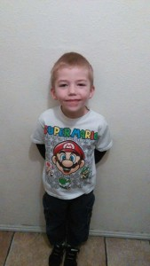Kellan Tabor, 7, was rescued by a good Samaritan Wednesday after running away from school and ending up in heavy traffic on 700 South, St. George, Utah, photo undated   Photo courtesy of Anissa Tabor, St. George News