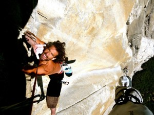 Eric Klimt climbing the Salathé Wall, El Cap, Yosemite, date unspecified | Photo courtesy of Eric Klimt's Facebook page, St. George News