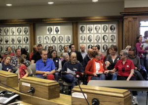 City Council and administrators discuss the future home of the Downtown Cedar City's Farmers Market, Cedar City Council Chambers, Cedar City, Utah, March 23, 2016 | Photo by Carin Miller of Utah Highway Patrol, St. George News