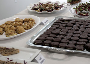 The Culinary Arts program showed their stuff at the grand opening for the news school building, Southwest Applied Technology College, Cedar City, Utah, March 31, 2016 | Photo by Carin Miller, St. George News