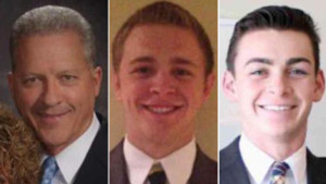 Left to right: Richard Norby, Mason Wells and Joseph Empey, three Utah missionaries, were injured in an explosion at the Brussels airport, March 22, 2016, photo locations and dates unspecified | Photos courtesy of the LDS Church, St. George News