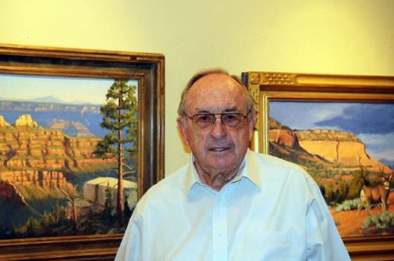 Paul B. Jensen, Date and Location not given | Photo courtesy of Southern Utah Art Guild, St. George News