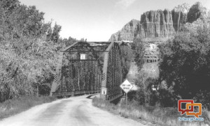 Rockville Bridge, Rockville, Utah, Date not given | Photo courtesy of Washington County Historical Society, St. George News