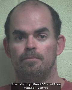 Scott David Sullivan, of Cedar City, Utah, booking photo posted March 1, 2016 | Photo courtesy of the Iron County Sheriff's Office, Cedar City News