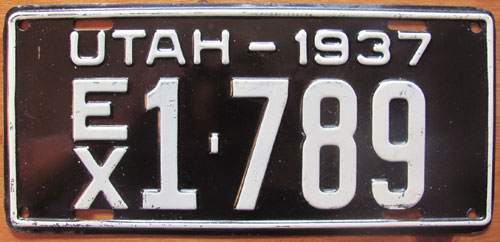 utah special license plate goes mainstream; license plates from the