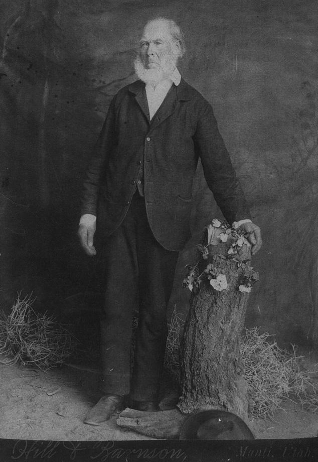 Laban Morrill Mormon Pioneer StGeorgeNews.com