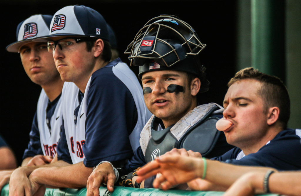 Dixie State University vs.  California Baptist University, Baseball,  St George, Utah, Mar. 4, 2016,   Photo by Kevin Luthy, St. George News