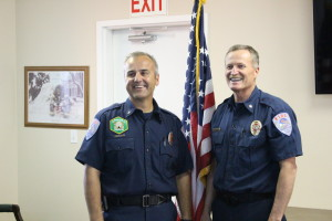 City officials announced Fire Capt. Matt Evans to succeed retiring Chief Brett Hafen at the end of March in a brief meeting held at Fire Station 61, Washington City, Utah, March 11, 2016 | Photo By Mori Kessler, St. George News