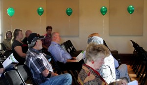 Attendess at a town hall meeting held by Republican gubernatorial candidate Jonathan Johnson who took a pledge not to raise taxes in Utah if elected governor, St. George, Utah, March 15, 2016   Photo by Mori Kessler, St. George News