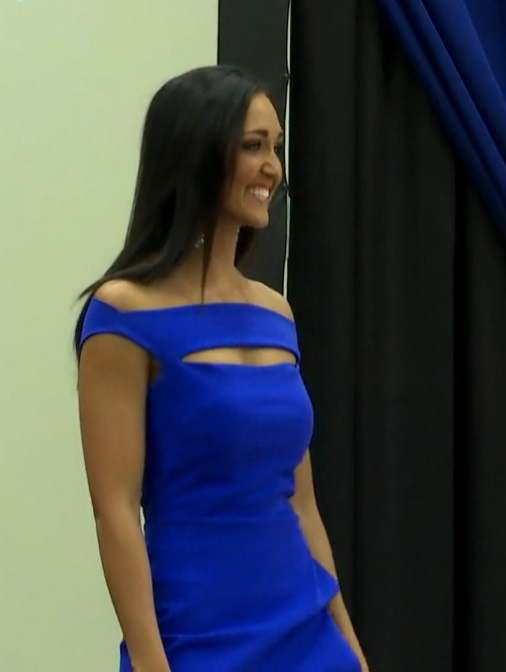 Miss Utah Krissia Beatty at a send-off celebration previous to the Miss America Pageant, Aug. 22, 2015 | Photo by Kassi Gillette, St. George News