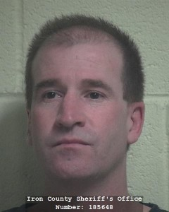 Mitchell MacPeek, booking photo posted March 6, 2016 | Photo courtesy of the Iron County Sheriff's Office, Cedar City News