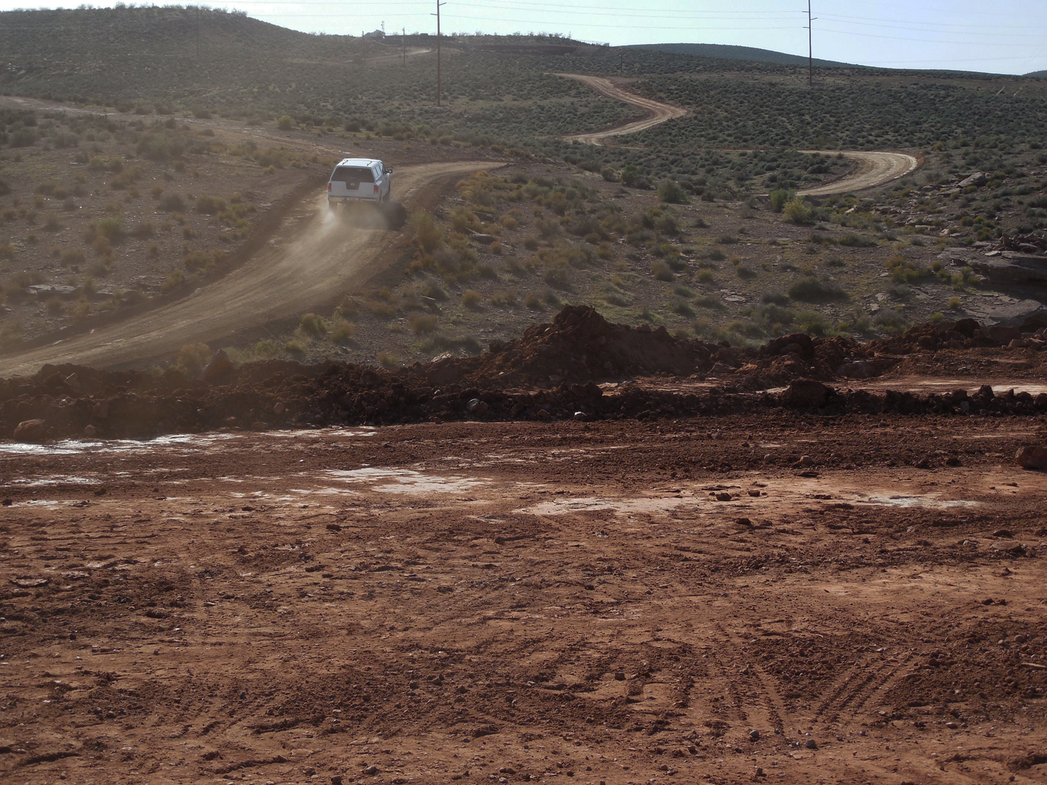 A new outdoor park located between the water tank and Cove Wash Trail in Santa Clara is in the planning stages and could host mountain bike races, Santa Clara, Utah, March 16, 2016   Photo by Julie Applegate, St. George News