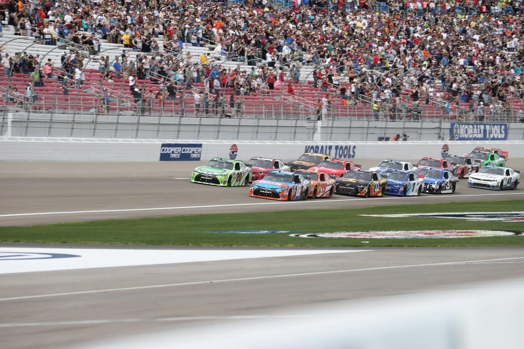 The Las Vegas XFINITY race Saturday, Las Vegas, Nev., Mar. 5, 2016 | Photo by Rick Johnson, special to St. George News
