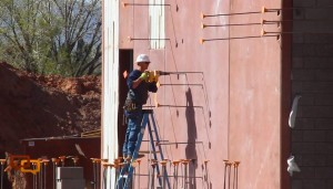 The new Legacy Elementary School is undergoing rapid construction in St. George, Utah, March 23, 2016   Photo by Don Gilman, St. George News