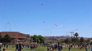 The 17th annual Dixie Power Kite Festival took place on the Dixie State University Encampment Mall in St. George, Utah, April 23, 2016 | Photo by Don Gilman, St. George News