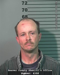 Ronald Cory Fordham, Beaver City, Utah, booking photo posted April 10, 2016 | Photo courtesy of the Beaver County Sheriff's Office, Cedar City News