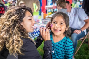 Fancy face painting at Cotton Days, Washington City, Utah, April 30, 2016 | Photo by Dave Amodt, St. George News