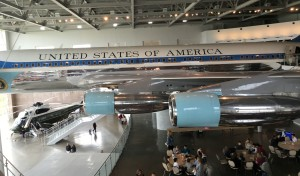 Retired Air Force One used in the Reagan Era and now on display at the Ronald Reagan Presidential Library and Museum, Simi Valley, California, March 21, 2016.   Photo by Kat Dayton. St. George News