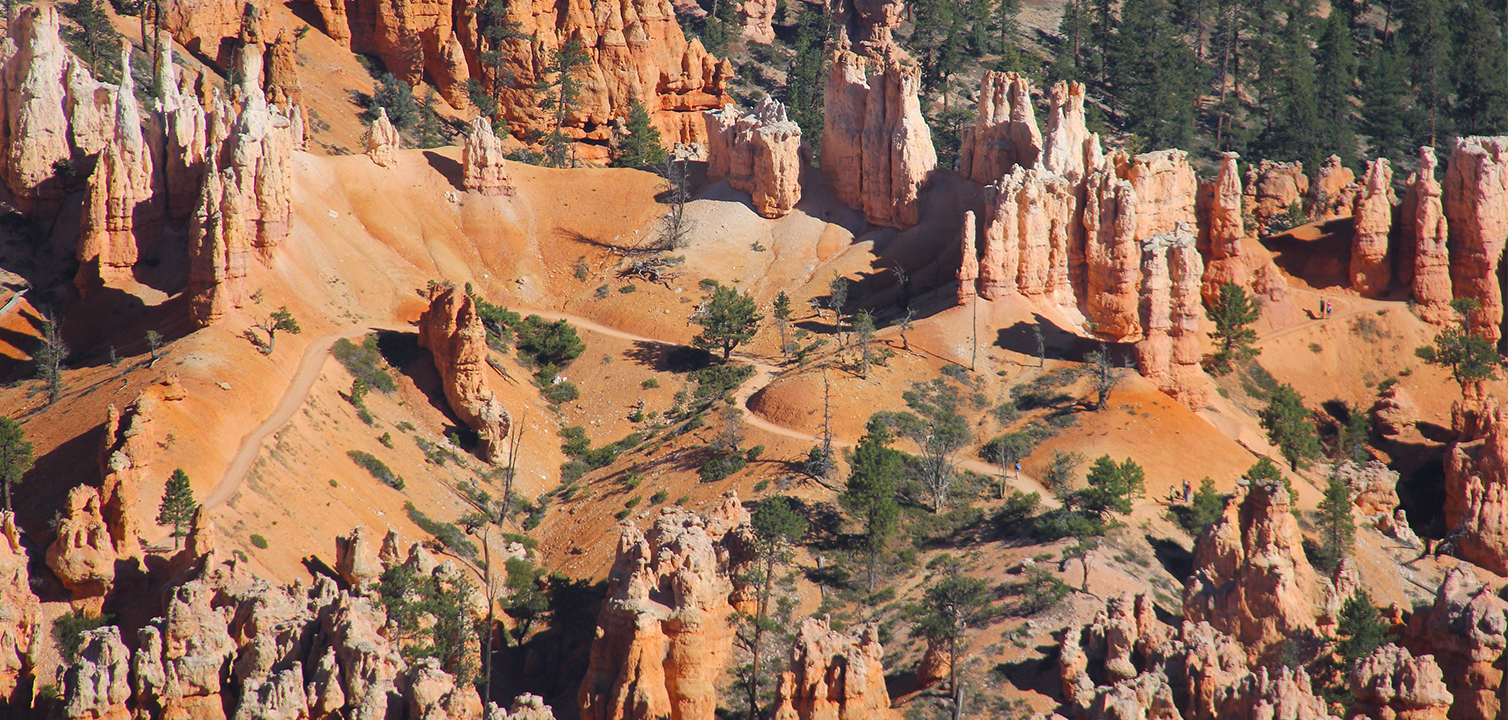 Bryce Canyon National Park is filled with miles of hiking trails, from leisurely strolls to overnight back-country treks and everything in between, Bryce Canyon National Park, Date not given | Photo courtesy of Garfield County, St. George News