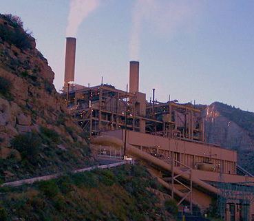 Castle Gate Power Plant near Helper, Utah, Oct. 28, 2007 | Photo courtesy of David Jolley via Wikimedia, St. George News