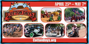 Combined image of Cotton Days events to be held in Washington City. Location and date not specified   Image courtesy of Washington City, St. George News